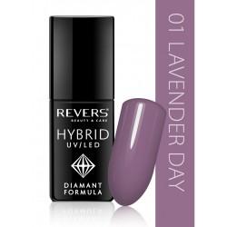 Hibridinis ilgalaikis nagų lakas REVERS UV/LED