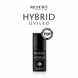 Hibridinis nagų lako viršutinis sluoksnis REVERS TOP UV/LED