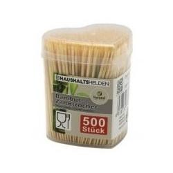 Bambukiniai dantų krapštukai 500 vnt