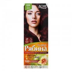 Dažomasis plaukų kremas Acme Color Rebina 034, Laukinė vyšnia