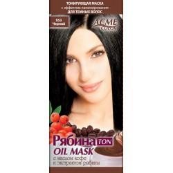 Plaukų tonavimo kaukė Acme Color Rebina Ton Oil Mask, 053  Juoda
