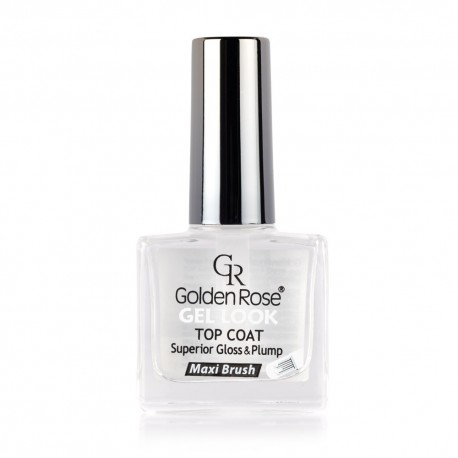 "Nagų lakas GR ""Gel Look Top Coat"""