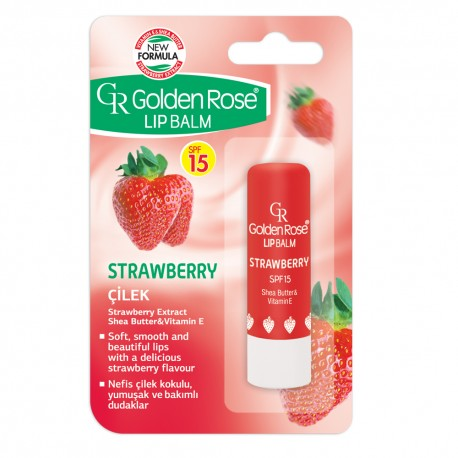 "Lūpų balzamas GR ""Strawberry SPF 15"""