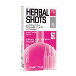 "Ampulės dažytiems plaukams ""Farcom Herbal Shots"""