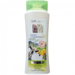 """Plaukų šampūnas ir balzamas su ožkų pienu ir kalninių arnikų ekstraktu BJ """"Fito Energia"""""""