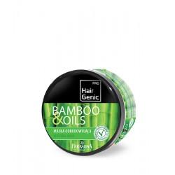 """Atkuriamoji kaukė sausiems pažeistiems plaukams su bambukų lapų ekstraktu Farmona """"Hair Genic"""""""