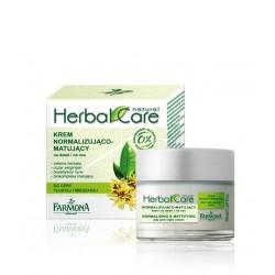 """Normalizuojantis ir matiškumo suteikiantis kremas Farmona """"Herbal Care"""""""