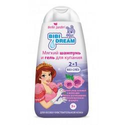 """Vaikiškas plaukų šampūnas ir prausimosi želė BJ """"BiBi Dream  2 &1"""""""