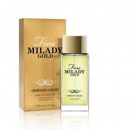 Tualetinis vanduo moterims GA Fine Milady Gold 069