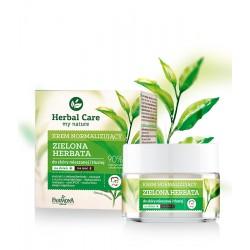 Normalizuojamasis kremas su žaliosios arbatos ekstraktu Farmona Herbal Care