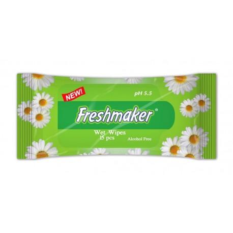 """Drėgnos kišeninės ramunėlių aromato servetėlės Fulya """"Freshmaker"""""""