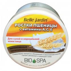 """Veido kremas su kviečių želmenimis ir  A, C, E  vitaminais BJ """"Spa Naturelle"""""""