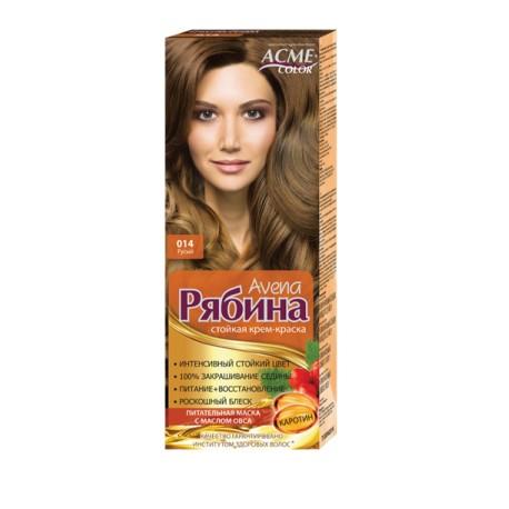 Dažomasis plaukų kremas Acme Color Rebina 014, Rusva
