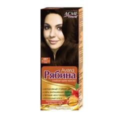 Dažomasis plaukų kremas Acme Color Rebina 057, Natūrali kava