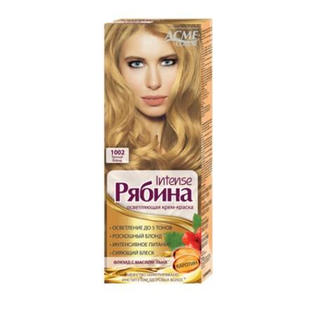 Dažomasis plaukų kremas Acme Color Rebina, 1002 šiltai šviesi