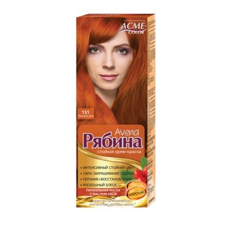 Dažomasis plaukų kremas Acme Color Rebina 131, Prabangus varis