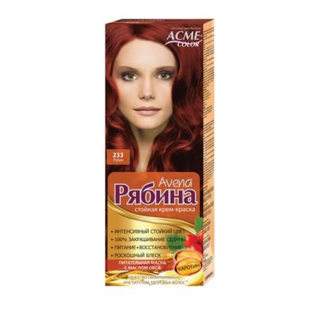 Dažomasis plaukų kremas Acme Color Rebina 233, Rubinas