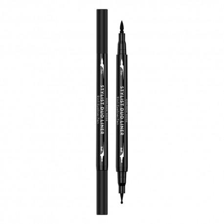 Akių pieštukas-pravedimas GR Stylist duo liner 2in1